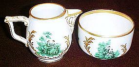 Artist signed Rosenthale  Rosalinde creamer and sugar