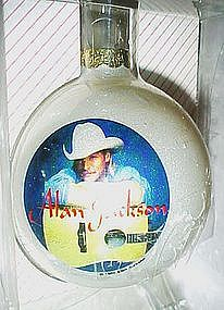 Rockshop limited edition Ornament, Alan Jackson
