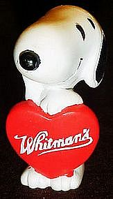 Snoopy Whitmans candy pvc figurine