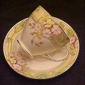 Sampson Smith old Royal china cup and saucer set