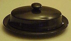 Franciscan Madeira covered oval butter dish