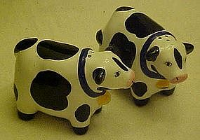 Coco Dowley Cow  salt and pepper shakers by Cert Int