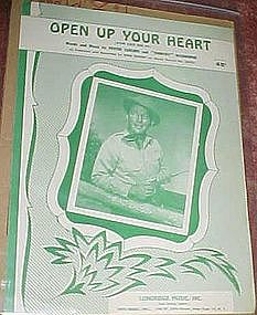 Open up your heart (and let me in) Bing Crosby cover