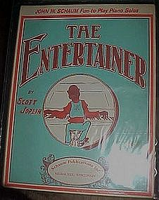 The Entertainer by Scott Joplin, Fun to play piano solo