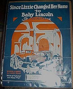 Since Lizzie changed her name to Baby Lincoln. music