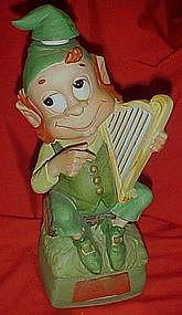 Hoffman Mr. Lucky harpist, Musical decanter series #1