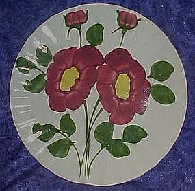 Blue Ridge Southern Potteries mirror image dinner plate