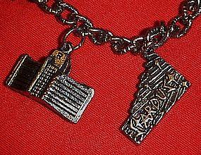 Vintage Las Vegas Casinos charm bracelet