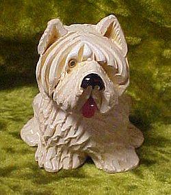 West highland terrier figurine