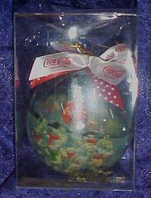 Coca Cola Polar bears Christmas ornament