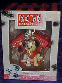 Enesco 101 Dalmations Christmas ornament Barkin Biscuit