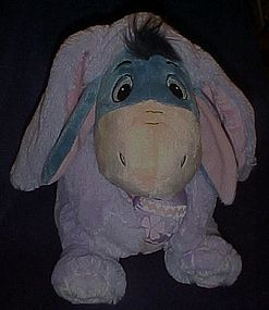 Eeore Easter bunny ultra plush,  as new 12""