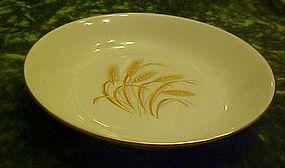 "homer Laughlin Golden Wheat  cream soup bowl 7 5/8"""