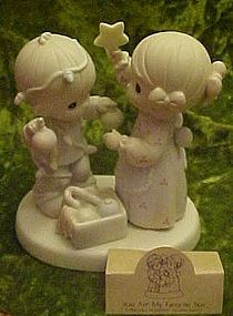 Precious Moments, You are my favorite star figurine