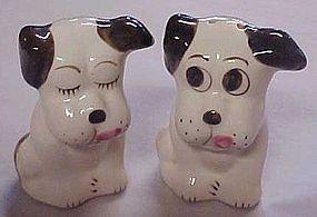 Vintage Rio Hondo dog salt and pepper shakers