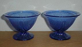Cobalt Royal Lace Sherbets