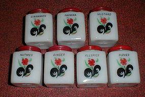 Tipp City BLACK LEAF 7 Shaker Set