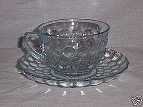 Sapphire BUBBLE Cups & Saucers