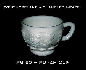 """Westmoreland """"Paneled Grape"""" PG 85 Punch Cup"""