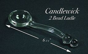 Imperial Candlewick 400/ Series 2 Bead Mayo Spoon Ladle