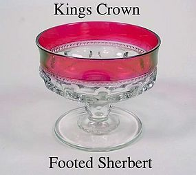 Tiffin U.S. Glass Indiana King