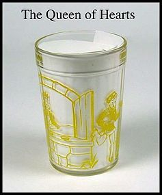 HA Child's Yellow Nursery Tumbler ~ the Queen of Hearts