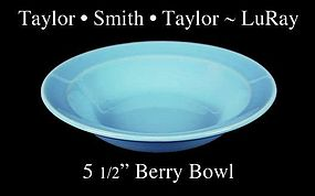 Taylor Smith Taylor LuRay Blue 5 inch Berry Bowl
