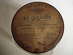 Hazel Atlas Jar Orig E-Z Cleaner Lid Stanley Product