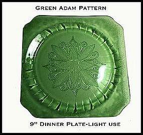 Adam Green Large Dinner Plate~Light Use