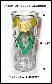 Hocking ~ Set of 6 Tall Tulip Jelly Glasses